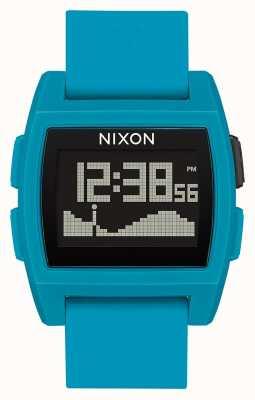 Nixon 基础潮|蓝色树脂|数字|蓝色硅胶表带 A1104-2556-00