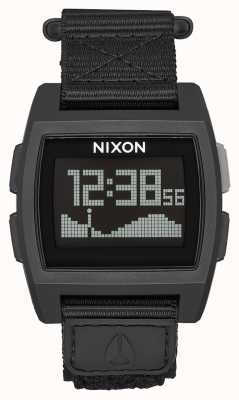 Nixon 基础潮尼龙|剩余|数字|绿色尼龙表带 A1169-1085-00