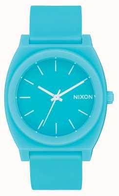 Nixon 时间出纳员p  磨砂矿物玉 翡翠硅胶表带 翡翠表盘 A119-3011-00