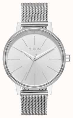 Nixon 肯辛顿米兰人|全银|不锈钢网|银色表盘 A1229-1920-00