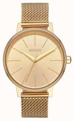 Nixon 肯辛顿米兰人|全金|金色ip钢网|金表盘 A1229-502-00