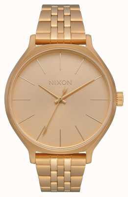 Nixon 派系|全金|黄金ip钢手链|金表盘 A1249-502-00
