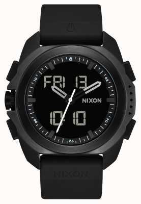 Nixon 里普利|黑色|数码|黑色tpu表带| A1267-000-00