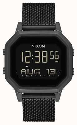 Nixon 警笛米兰人|全黑|数字|黑色ip钢网| A1272-001-00