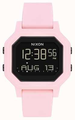Nixon 警笛声|浅粉色|数码|粉色硅胶表带 A1311-3154-00