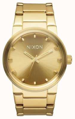 Nixon 大炮|全金|黄金ip钢手链|金表盘 A160-502-00