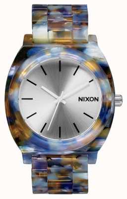 Nixon 醋酸盐柜|水彩醋酸盐|银色表盘 A327-1116-00