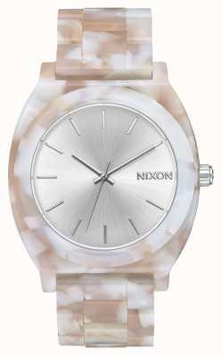 Nixon 醋酸盐柜|粉色/银色|银色表盘 A327-718-00