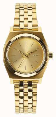 Nixon 小柜员|全金|黄金ip钢手链|金表盘 A399-502-00