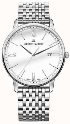Maurice Lacroix 男士eliros |不锈钢手链|银色表盘 EL1118-SS002-113-2