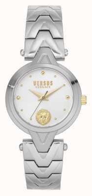 Versus Versace 女士v_versus forlanini |不锈钢手链|银色表盘 VSPVN0620