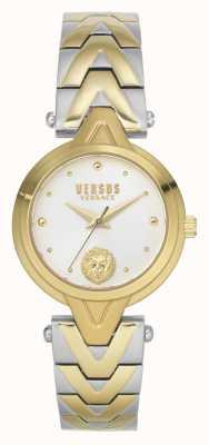 Versus Versace 女士v_versus forlanini |两音钢手链|银色表盘 VSPVN1020