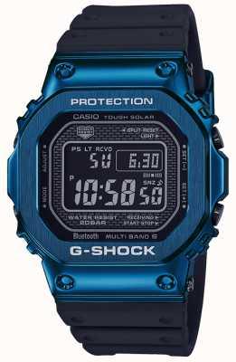 Casio G-shock蓝色坚韧的太阳能蓝色ip镀 GMW-B5000G-2ER