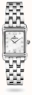 Michel Herbelin 装饰艺术|不锈钢手链|珍珠贝母表盘 17478/59B2