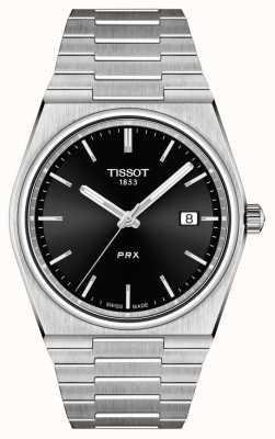 Tissot 男士PRX 40毫米石英黑色表盘 T1374101105100