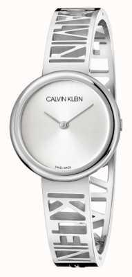 Calvin Klein 躁狂症|不锈钢手链|银表盘|尺寸m KBK2M116