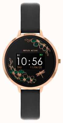 Reflex Active 系列3智能手表|黑色表带 RA03-2040