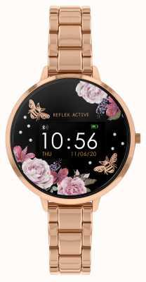 Reflex Active 系列3智能手表 玫瑰金钢手链 RA03-4012