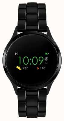Reflex Active 系列4智能手表|彩色触摸屏|黑色ip钢手链 RA04-3000