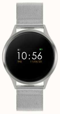 Reflex Active 系列4智能手表|彩色触摸屏|不锈钢网状手链 RA04-3001