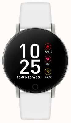Reflex Active 系列5智能手表|小时监视器|彩色触摸屏|白色表带 RA05-2019