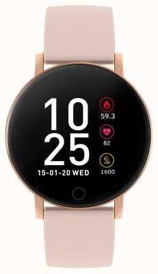 Reflex Active 系列5智能手表|小时监视器|彩色触摸屏|粉色表带 RA05-2020