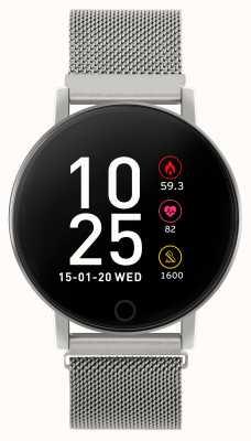 Reflex Active 系列5智能手表|小时监视器|彩色触摸屏|钢网 RA05-4015
