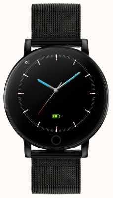 Reflex Active 系列5智能手表|小时监视器|彩色触摸屏|黑色ip钢网 RA05-4024