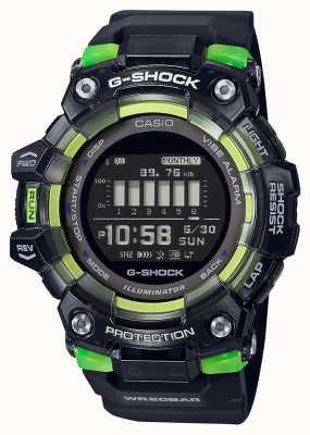 Casio G-shock |运动至关重要的系列|黑色硅胶表带|黑色表盘 GBD-100SM-1ER