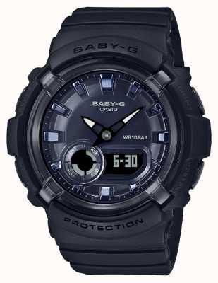 Casio 宝贝-g |黑色树脂表带|黑色表盘| BGA-280-1AER