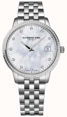 Raymond Weil 托卡塔|妇女的珍珠贝母表盘| 5388-STS-97081