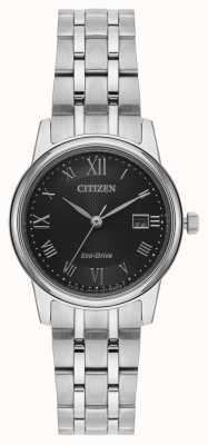 Citizen 女士环保型银色手链 EW2310-59E