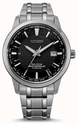 Citizen 男士环保驾驶电波世界永不停止 CB0190-84E
