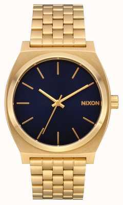 Nixon 计时员 |全金/靛蓝|黄金ip手链|靛蓝色表盘 A045-2033