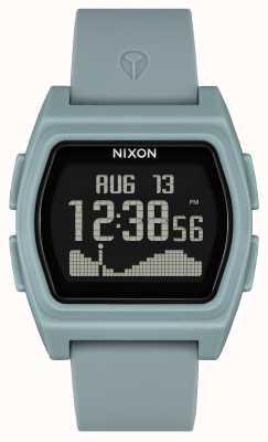 Nixon 竞争对手  雾色 数字 雾色硅胶表带 A1310-5035