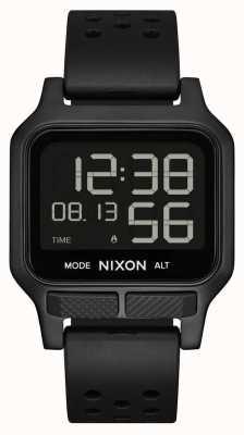 Nixon 热量|全黑橡胶表带手表 A1320-001