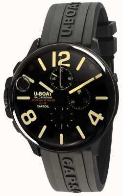 U-Boat Capsoil 45 DLC chrono / c黑色橡胶表带 8109/C