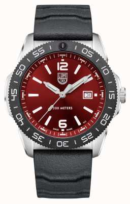 Luminox 太平洋潜水员  红色表盘 黑色橡胶表带 XS.3135