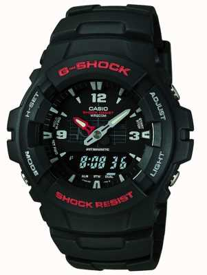 Casio G-SHOCK计时码表G-100-1BVMES G-100-1BVMUR