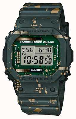 Casio G-shock |碳芯护罩|可互换的皮带和表圈 DWE-5600CC-3ER