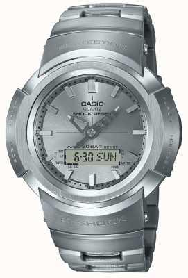 Casio G-shock |全金属手链|无线电控制 AWM-500D-1A8ER