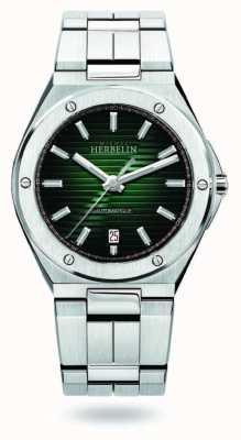 Michel Herbelin 帽camarat |自动 |绿色表盘|不锈钢 1645/B16