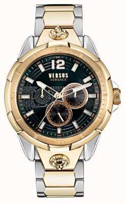 Versus Versace 男士 runyon 双音不锈钢手表 VSP1L0421
