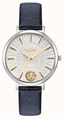 Versus Versace Versus 女士 mar vista 皮革表带腕表 VSP1F0121