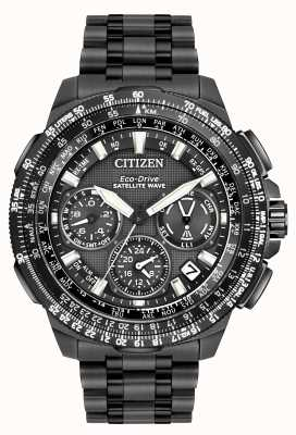 Citizen Gps navihawk 卫星波|黑色超级钛| cc9025-51e CC9025-85E
