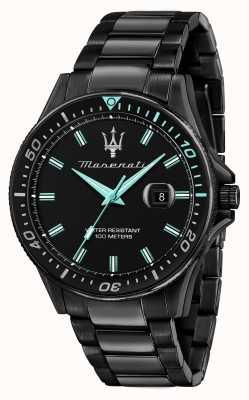 Maserati Sfida Aqua Edition黑色镀金手表 R8853144001