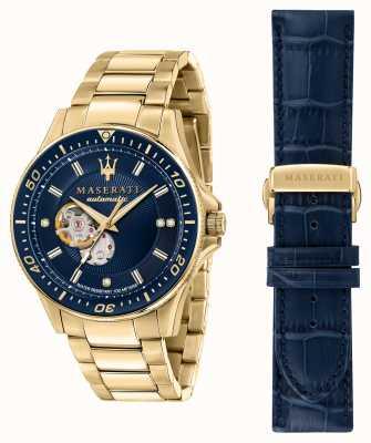 Maserati Sfida 钻石镀金腕表 R8823140004