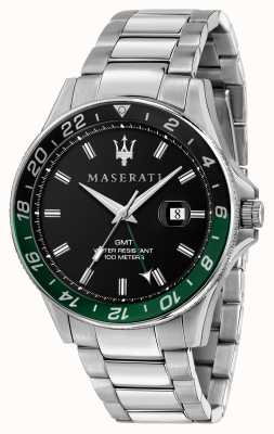 Maserati Sfida gents双色黑色/绿色边框 R8853140005