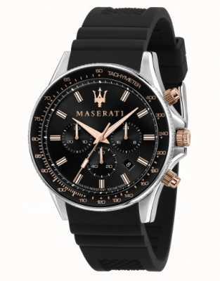 Maserati Sfida男士硅胶表带手表 R8871640002