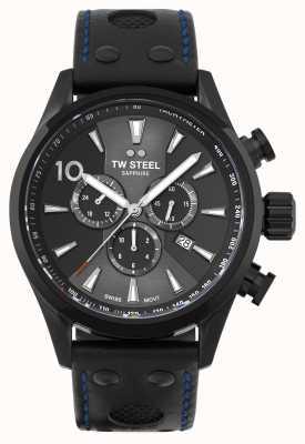 TW Steel 瑞士 volante 黑色 pvd 镀不锈钢 SVS308